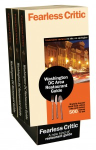 Fearless Critic Washington DC Restaurant Guide